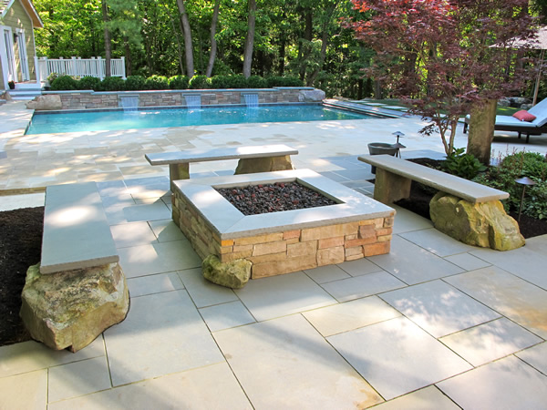 Custom Fire Pits and Outdoor Fire Place Installs in Northeast ...