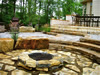 highland heights patio and fire pit