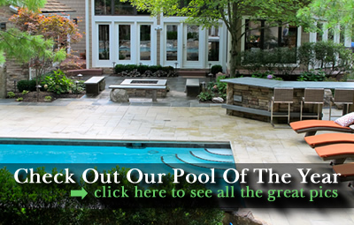custom pool design in northeast ohio - Daniel's Landscape & Design Stamped Concrete And Paver Patios In