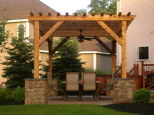 Wonderful Willoughby Pergola Patio